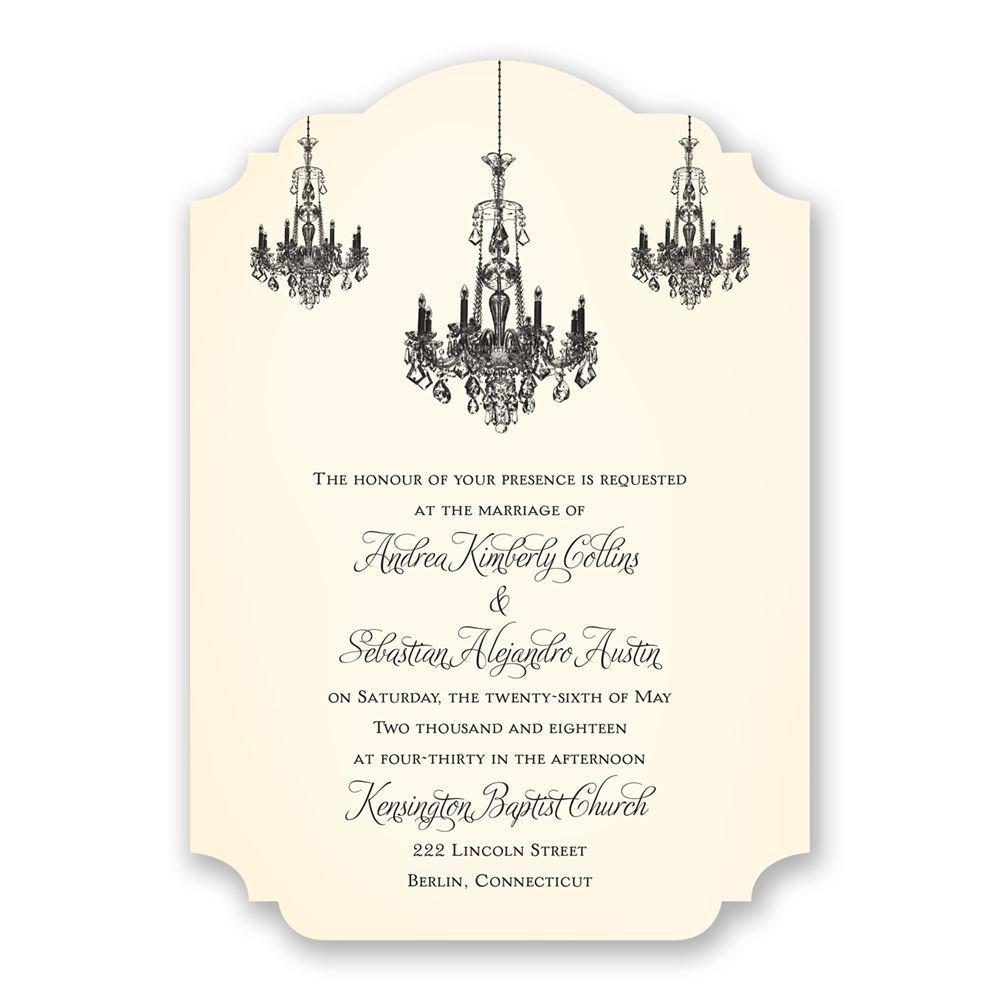 Ballroom Beauty Invitation | Invitations By Dawn