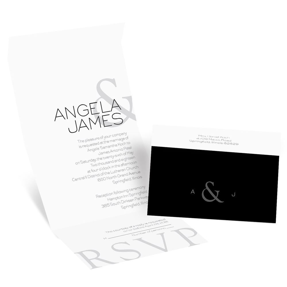 modern marvel seal and send invitation invitations by dawn With modern marvel wedding invitations