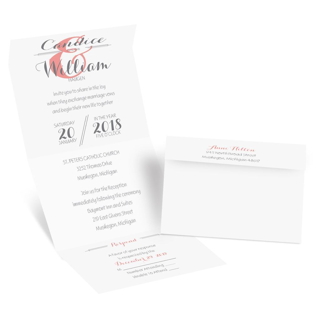 Distinct Style Seal And Send Invitation moreover Elegant Elements Foil Seal And Send Invitation besides Diy Invitation 2 together with Sending The Save The Dates in addition Wedding Gown Memories. on when do i send out wedding invitations