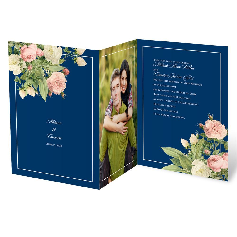 Brilliant Blooms Invitation Invitations By Dawn