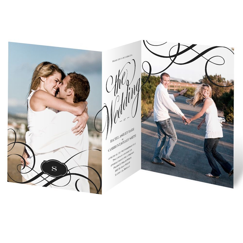 wedding invitations with pictures