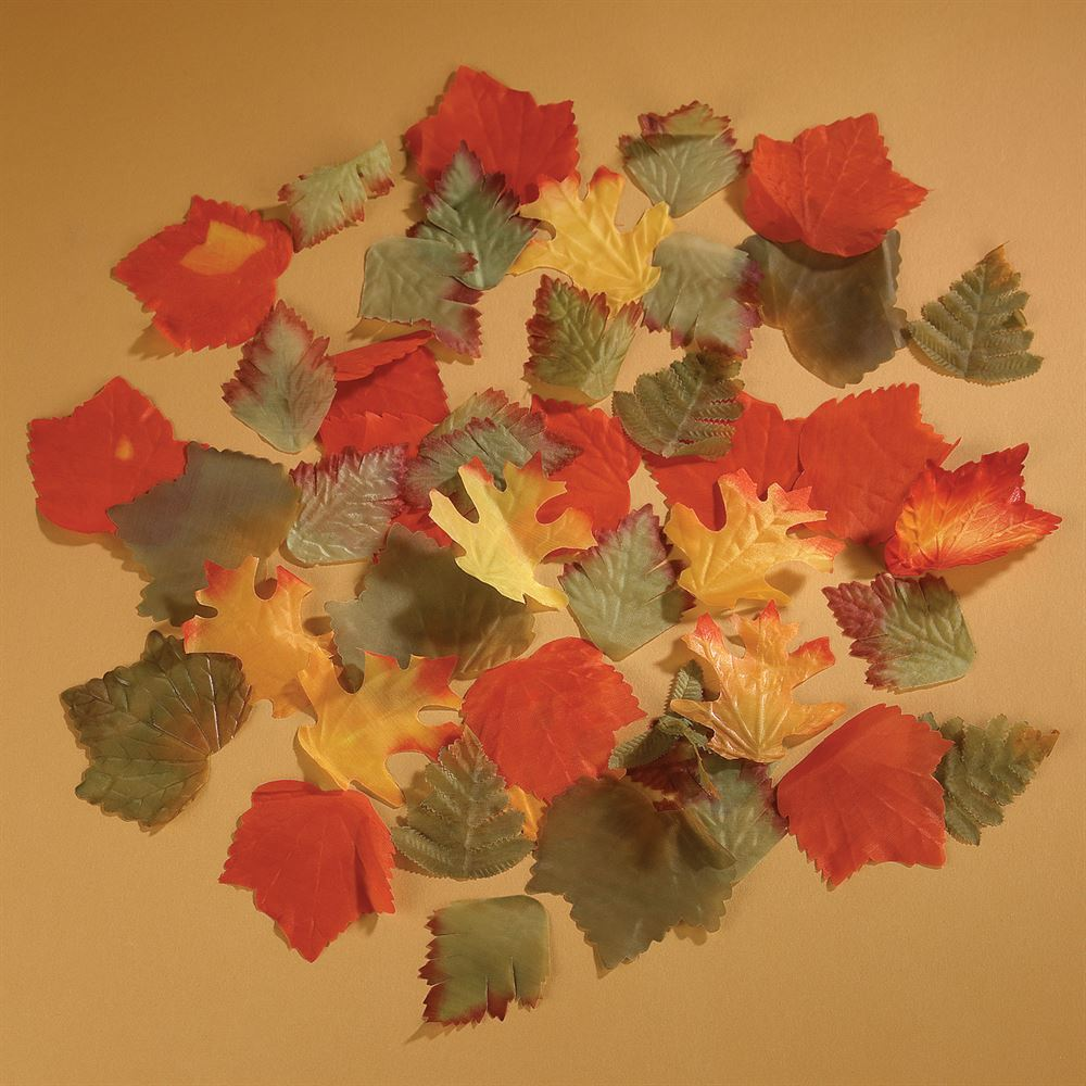Autumn leaf decorations invitations by dawn for Autumn leaf decoration