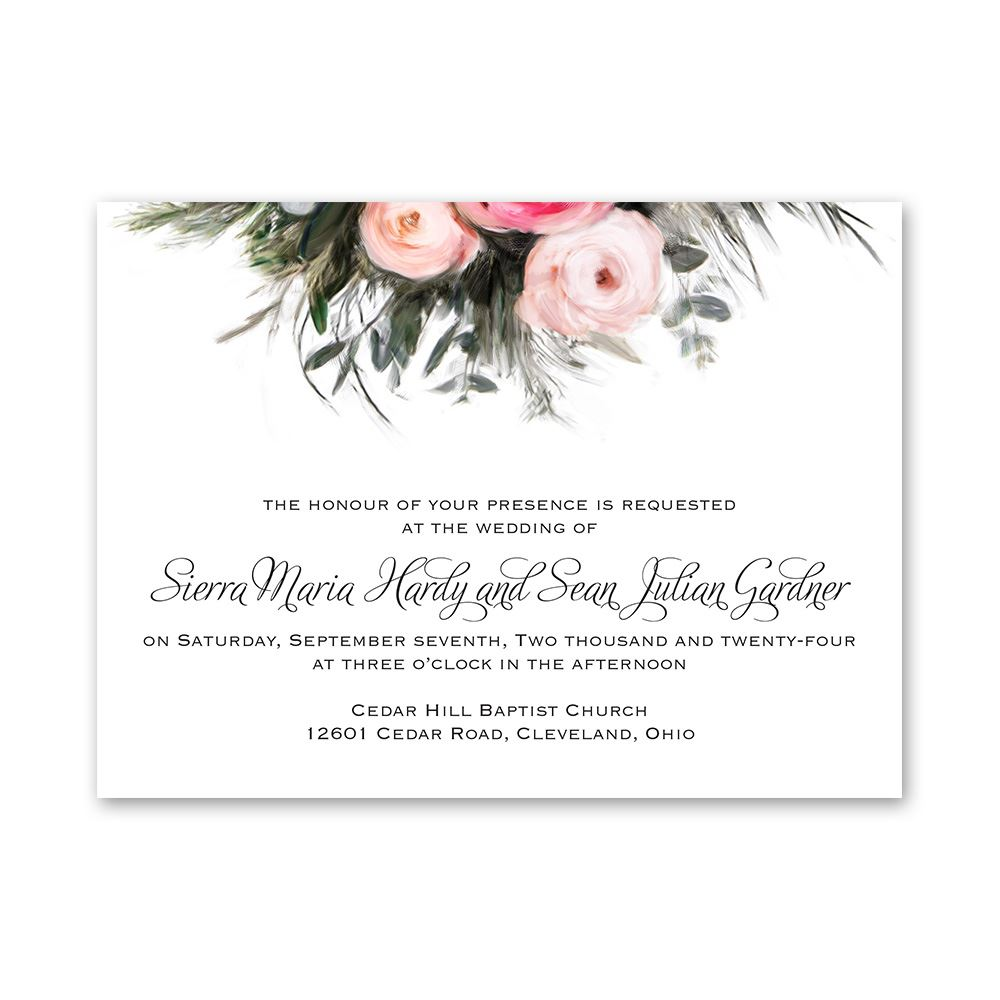 Ethereal Garden Petite Invitation | Invitations By Dawn