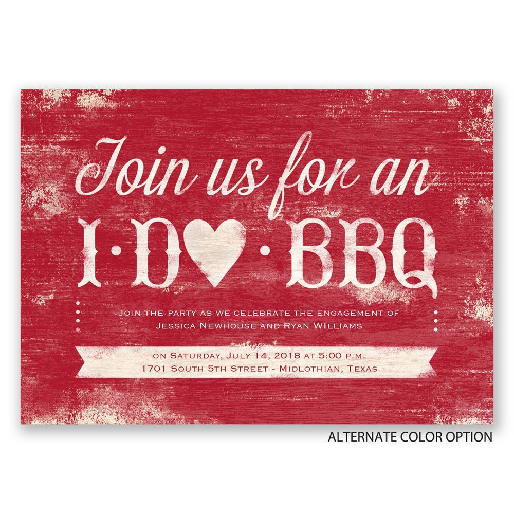 I do bbq engagement party invitation invitations by dawn for Online engagement party invitations