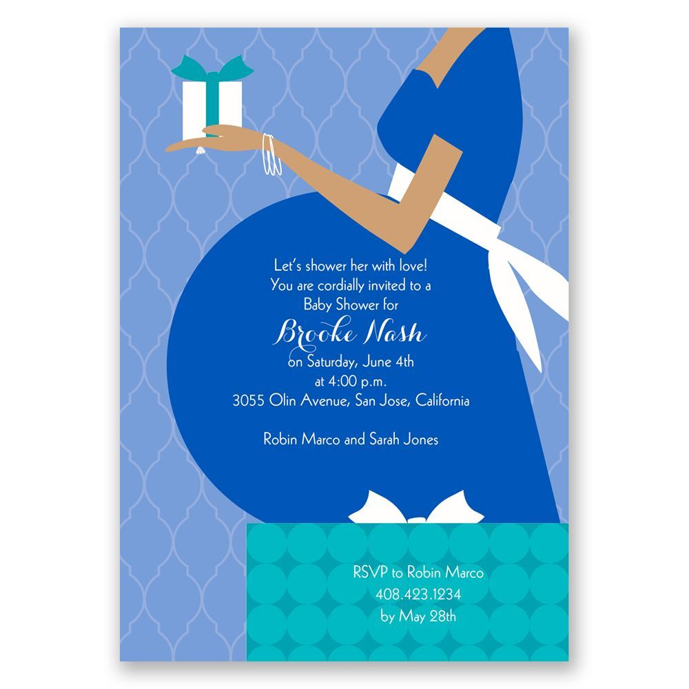 True Gift Baby Shower Invitation | Invitations By Dawn