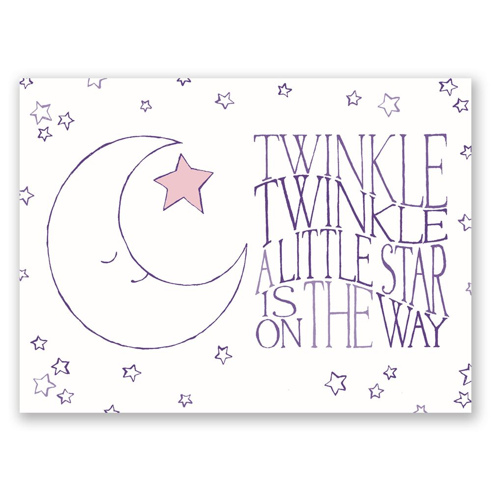 Twinkle twinkle petite baby shower invitation invitations by dawn twinkle twinkle petite baby shower invitation filmwisefo