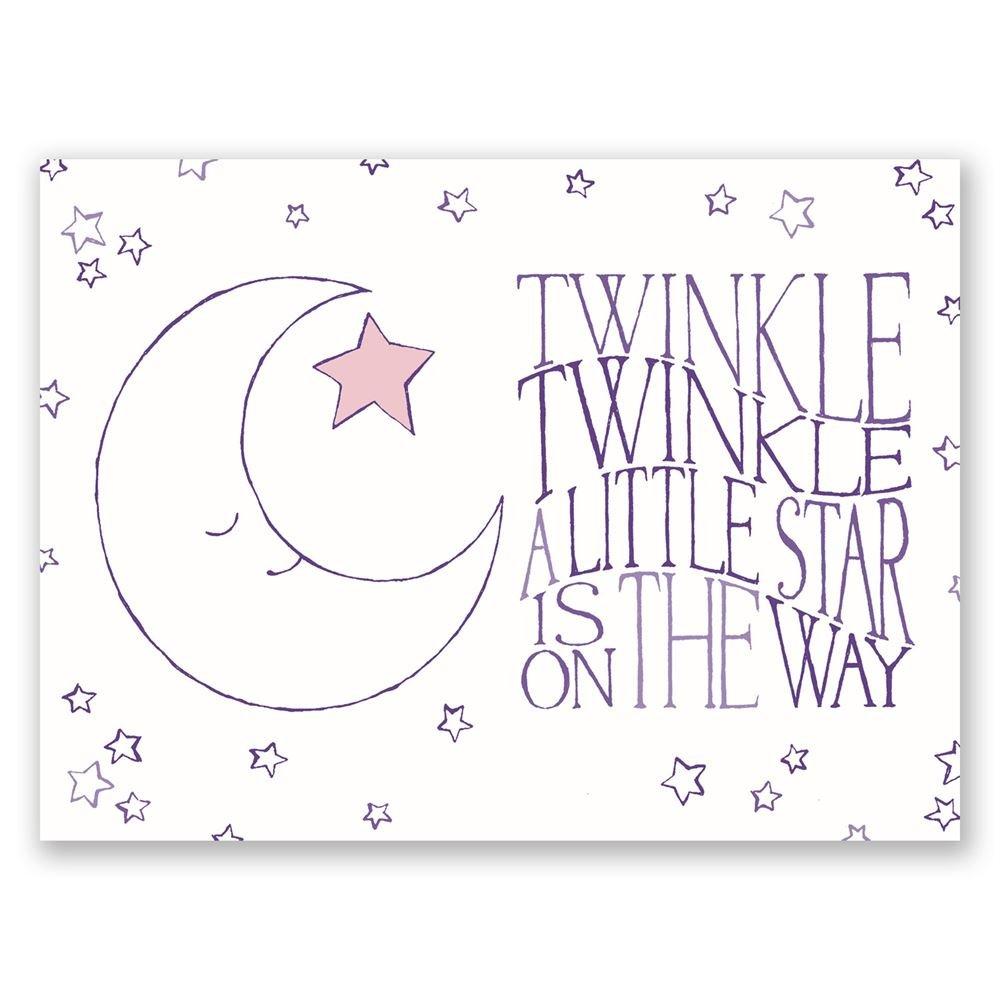 Twinkle twinkle petite baby shower invitation invitations by dawn twinkle twinkle petite baby shower invitation filmwisefo