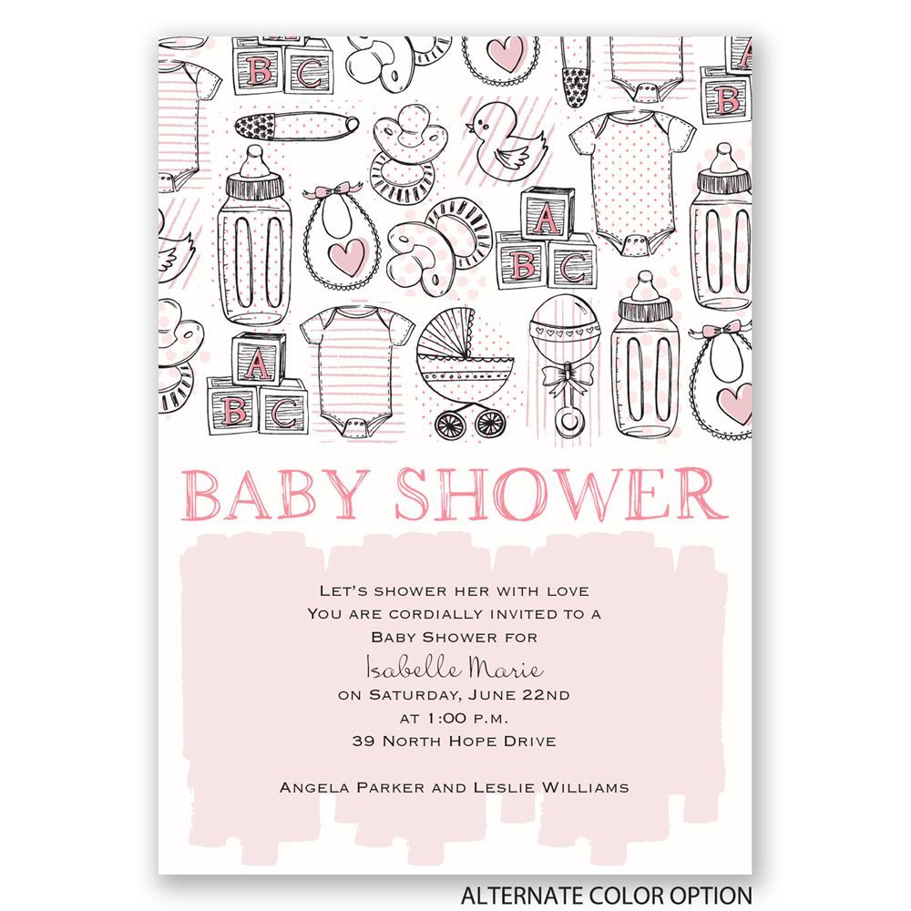The necessities baby shower invitation invitations by dawn the necessities baby shower invitation filmwisefo