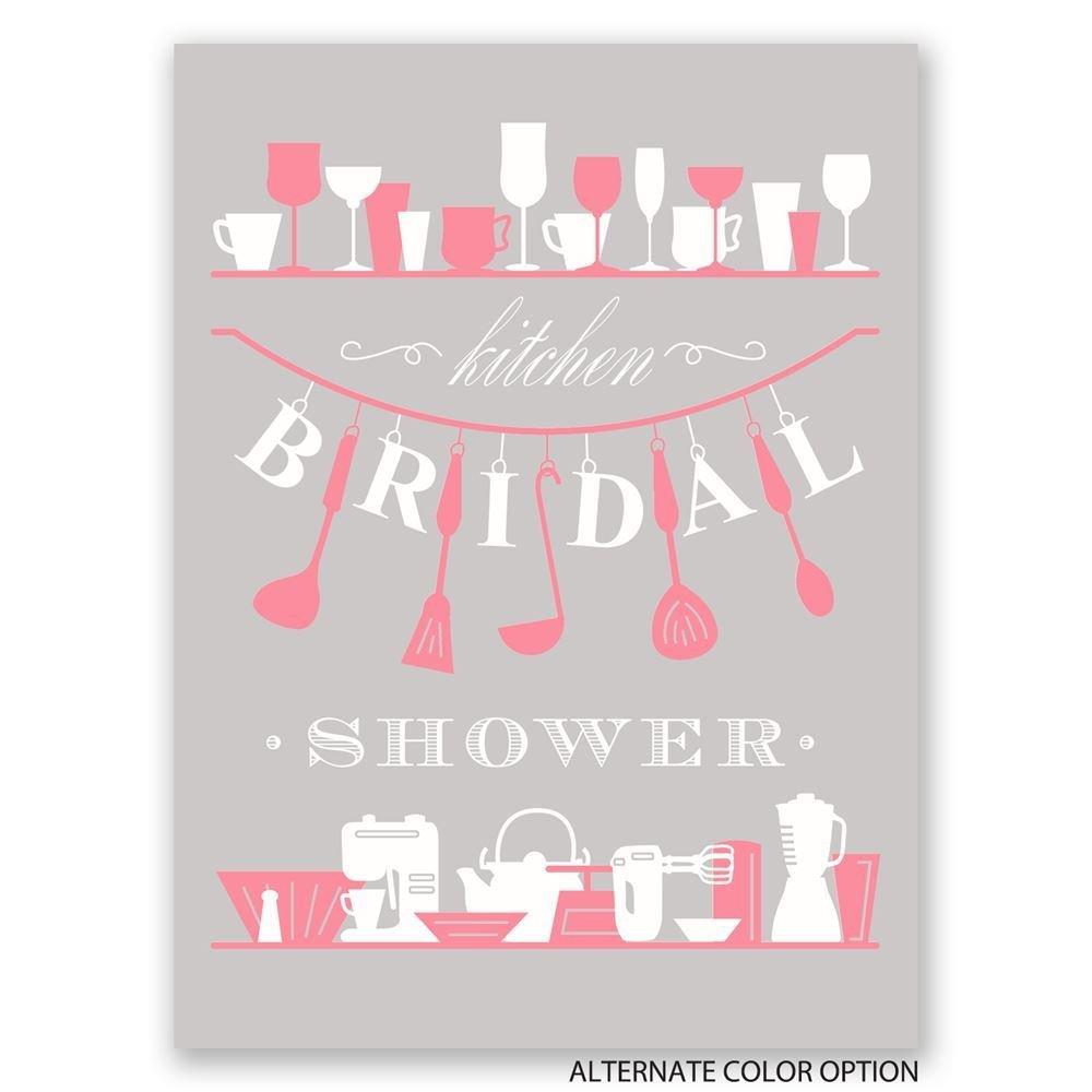 Kitchen Bridal Shower Kitchen Gadgets Petite Bridal Shower Invitation Invitations By Dawn