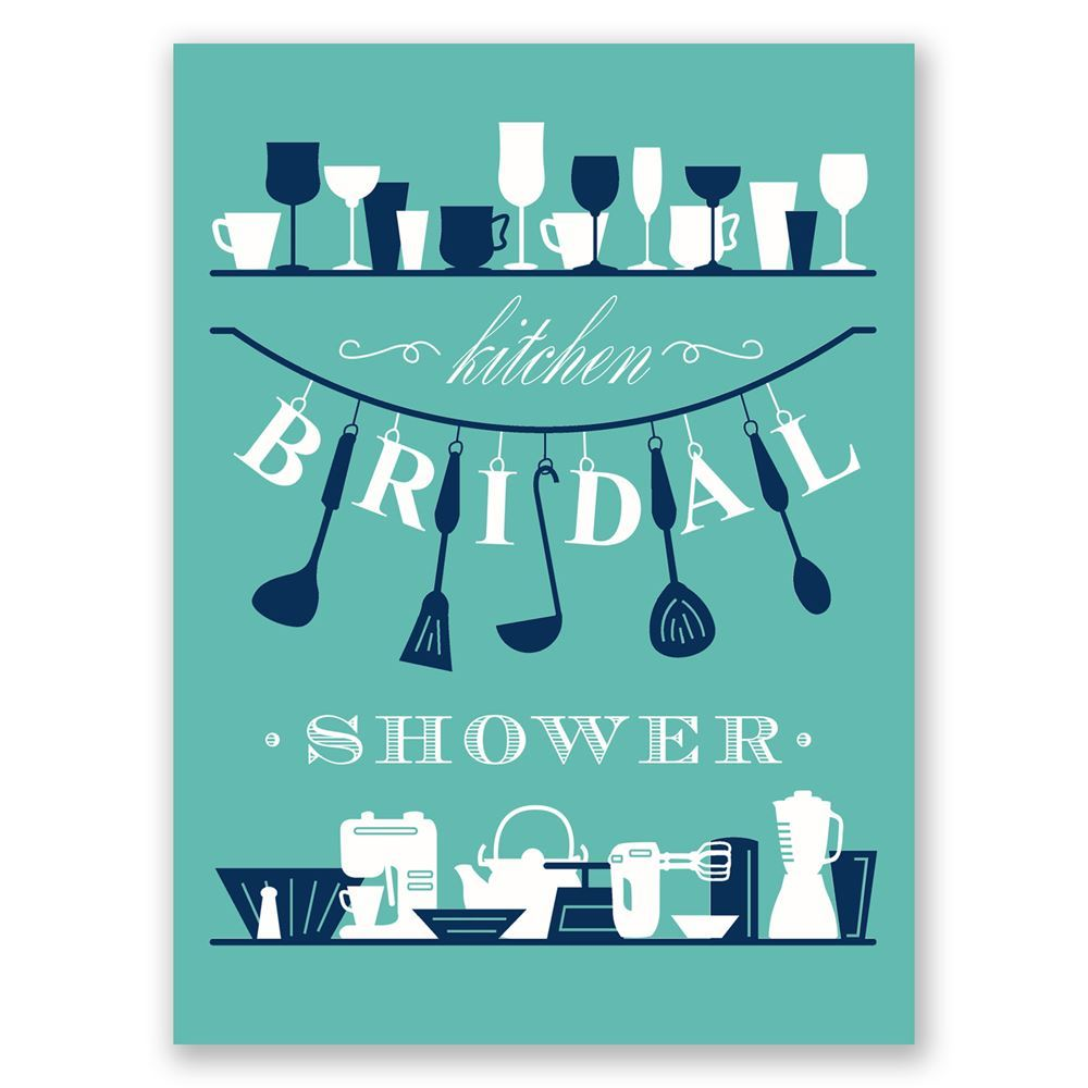 Kitchen gadgets petite bridal shower invitation invitations by dawn kitchen gadgets petite bridal shower invitation filmwisefo