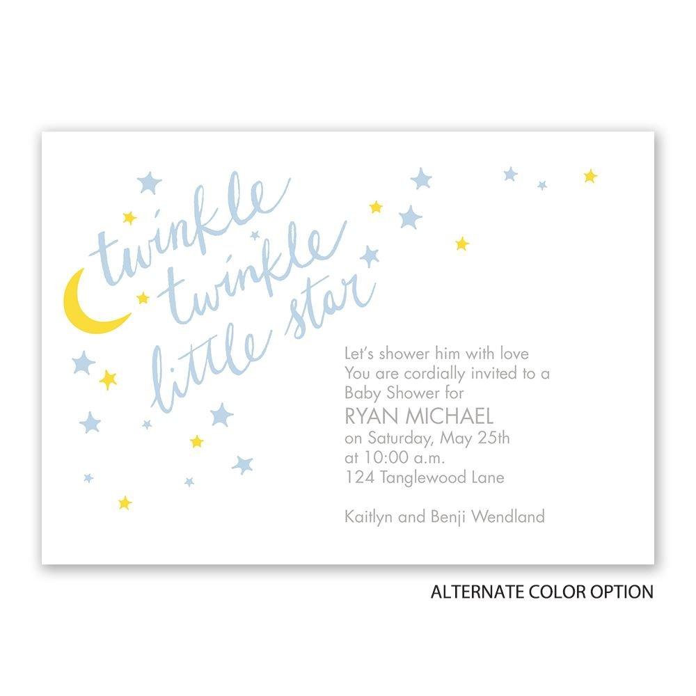 Little Star Baby Shower Invitation | Invitations By Dawn