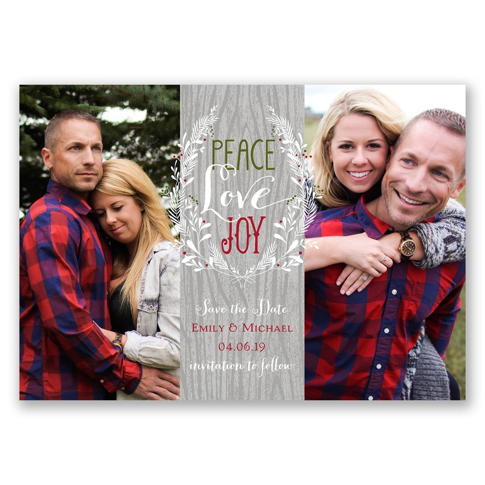 Save The Date Christmas Cards. winter save the date holiday card we ...