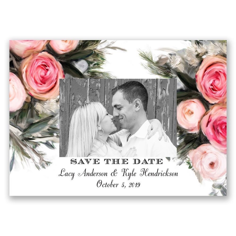 Magnetic save the dates