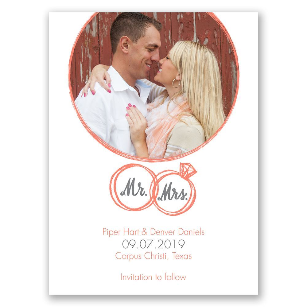 Save the Date Card wedding postcard Vintage by alacartepaperie