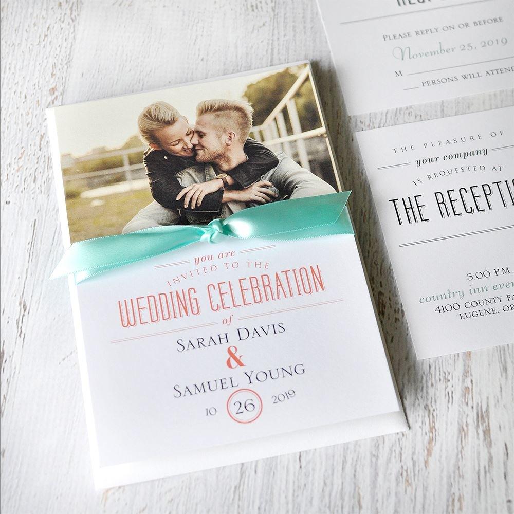 Wedding Celebration Invitations Wording: A Wedding Celebration Invitation
