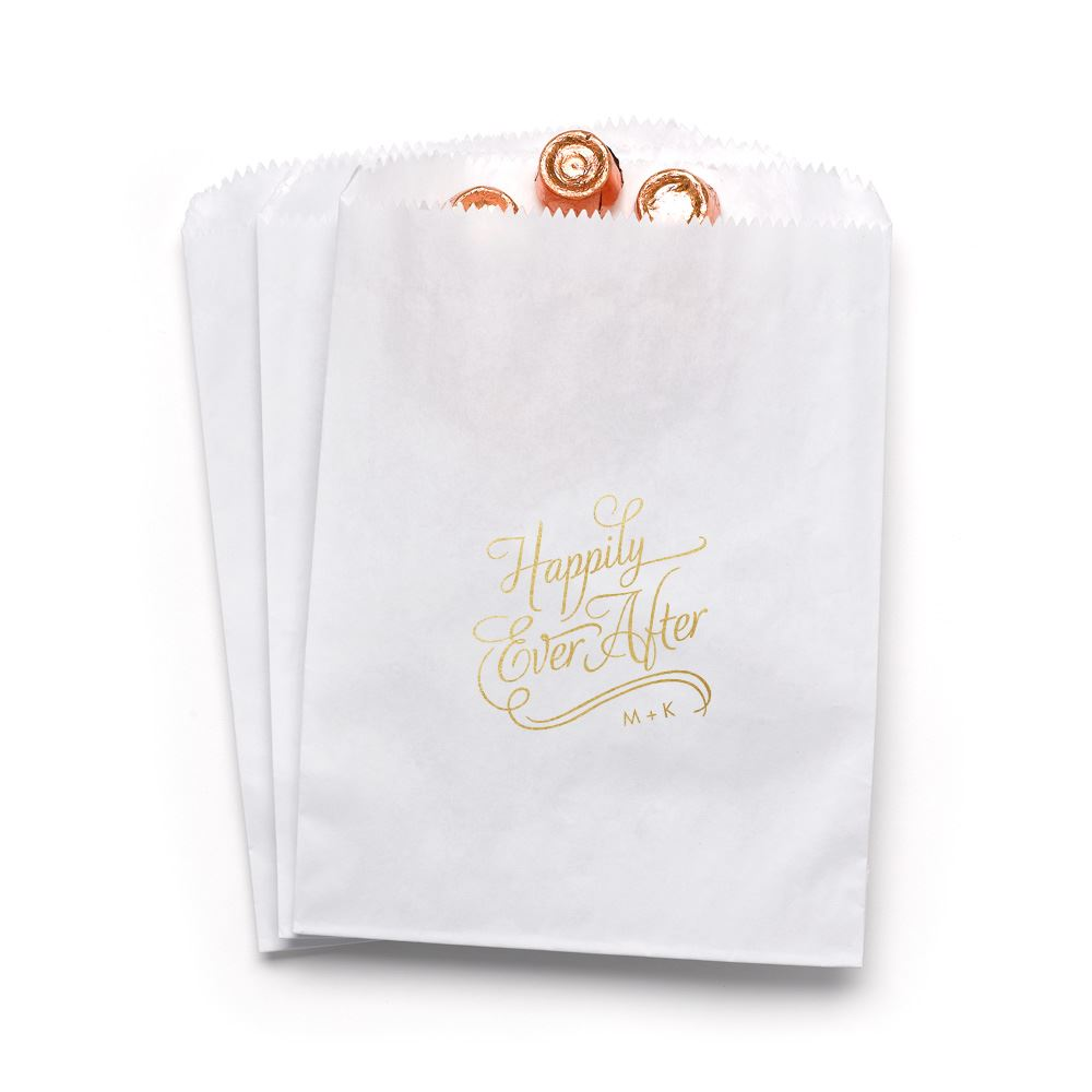 Happily Ever After Favor Bags | Invitations By Dawn