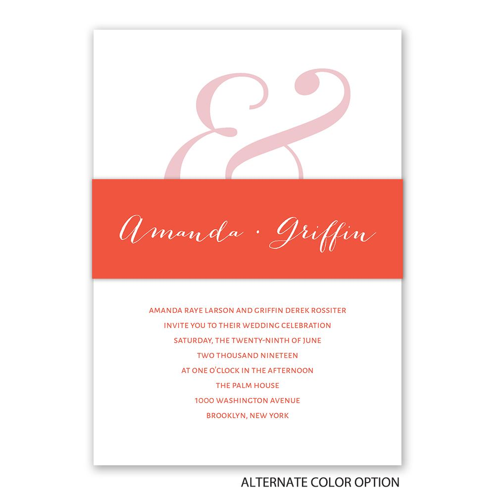 Modern Style Invitation | Invitations By Dawn