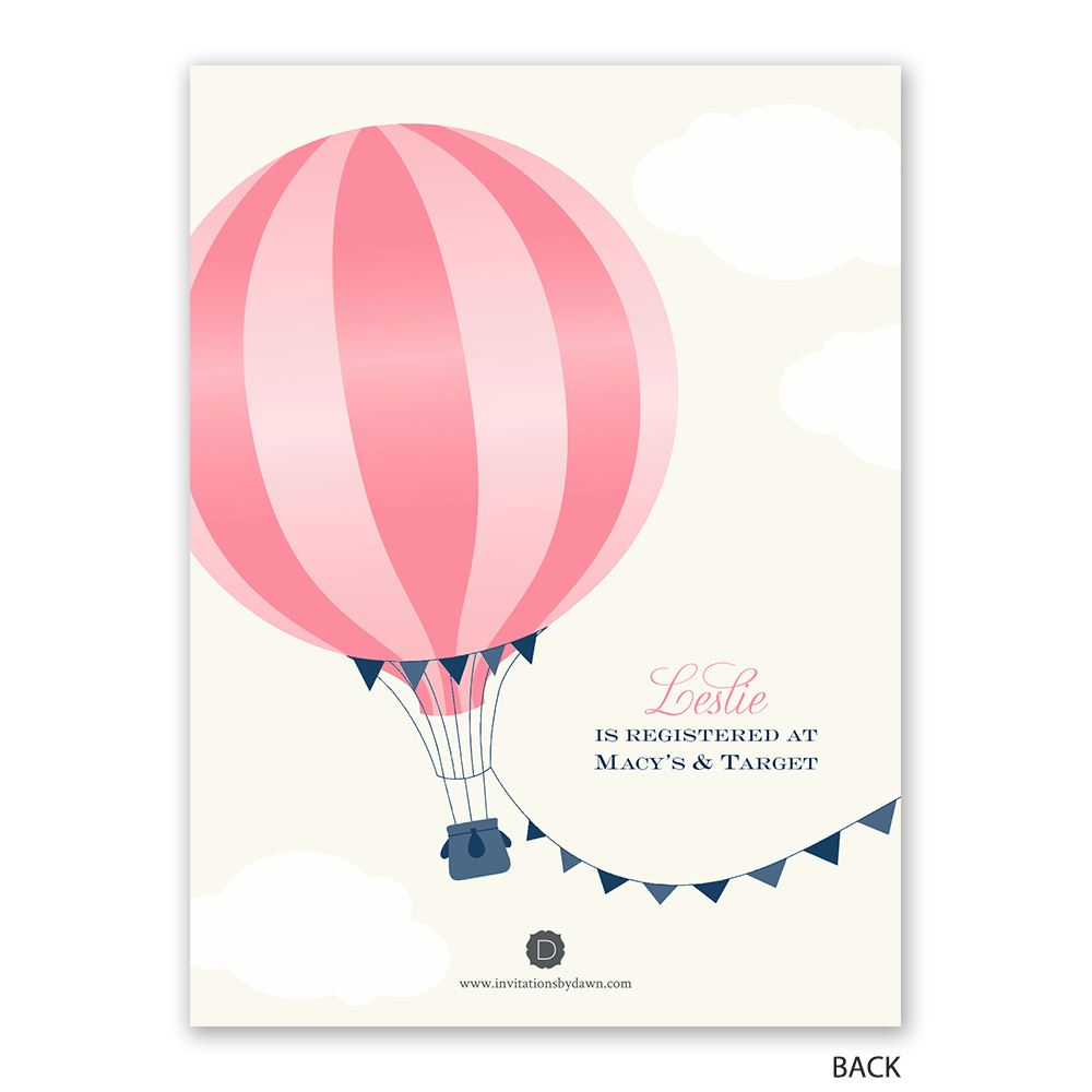 Love is in the air petite bridal shower invitation for Love the love