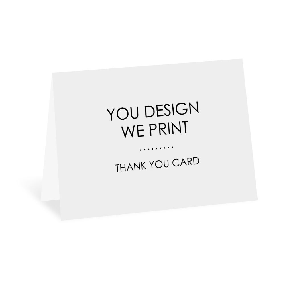 you design we print thank you card invitations by dawn