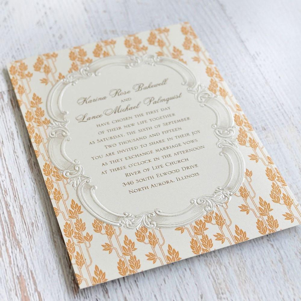Thermography Wedding Invitations Affordable Wedding Ideas