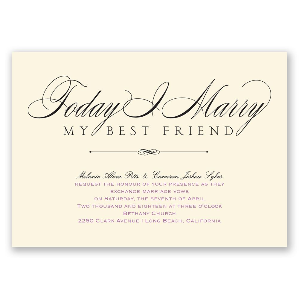 Love & Friendship - Invitation