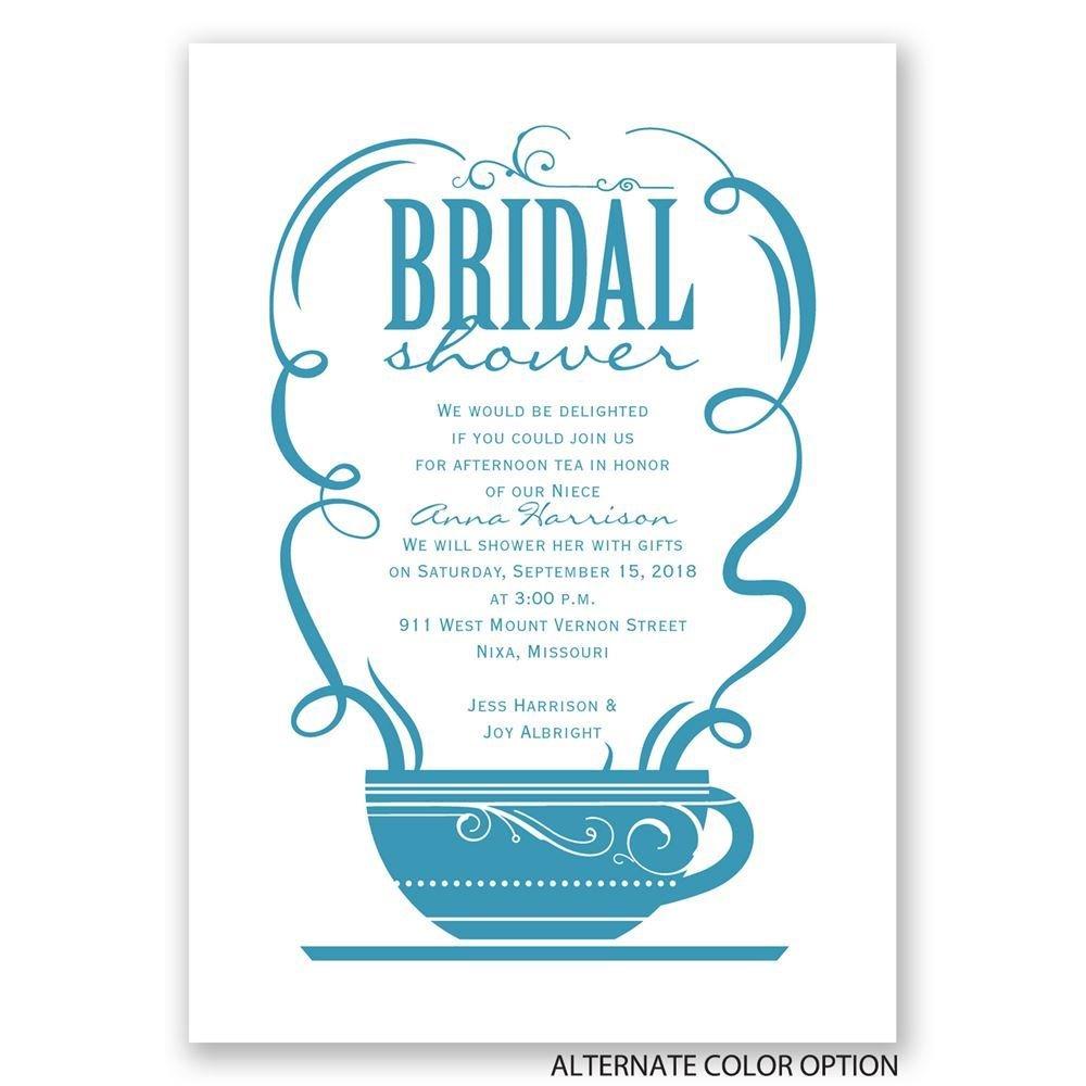 Coffee talk bridal shower invitation invitations by dawn for Best bridal shower invitations