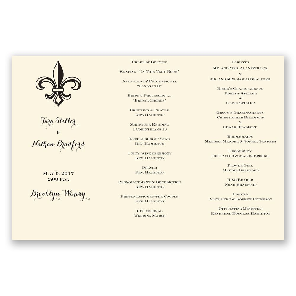 hobby lobby wedding program templates images template design ideas