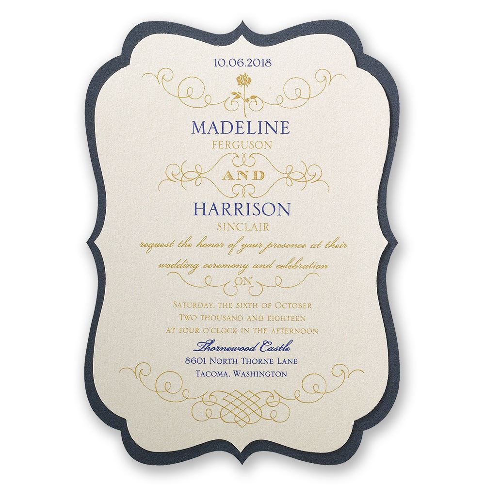 disney luxurious rose invitation belle invitations by dawn