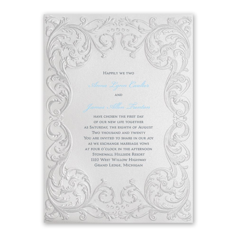 Disney Wedding Invitation: Disney Vintage Fairy Tale Invitation Cinderella