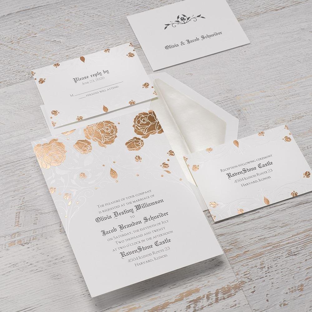 Disney Roses and Romance Invitation Sleeping Beauty | Invitations By ...