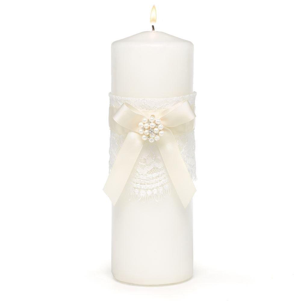 Candlelight Wedding Invitations: Simply Splendid Unity Candle