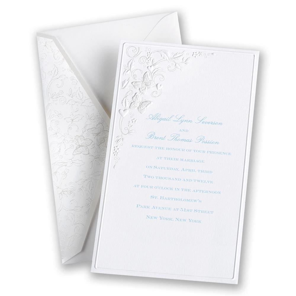 Romantic Butterflies Invitation Invitations By Dawn