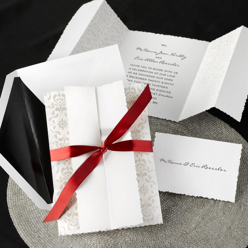 Fine Dawn Wedding Invites Adornment - Invitations and Announcements ...