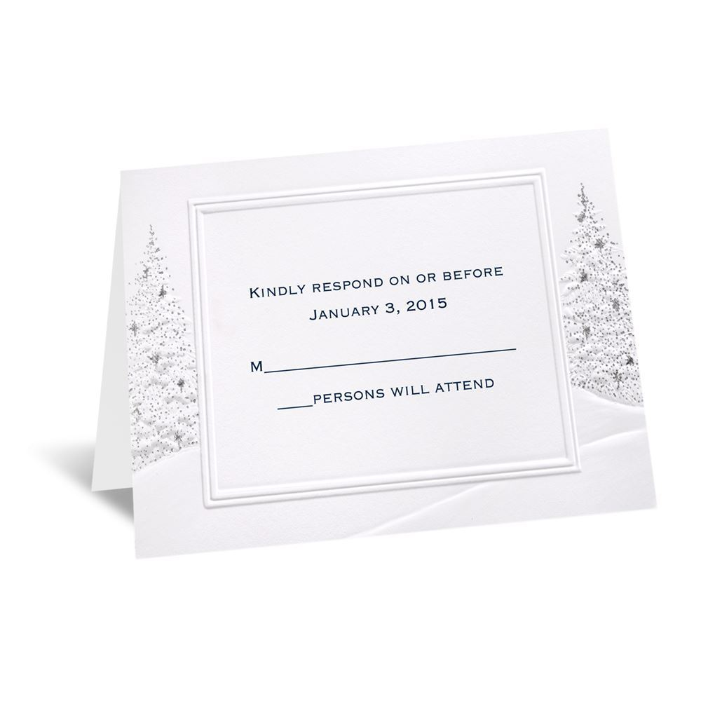 wedding wonderland respond card and envelope invitations by dawn